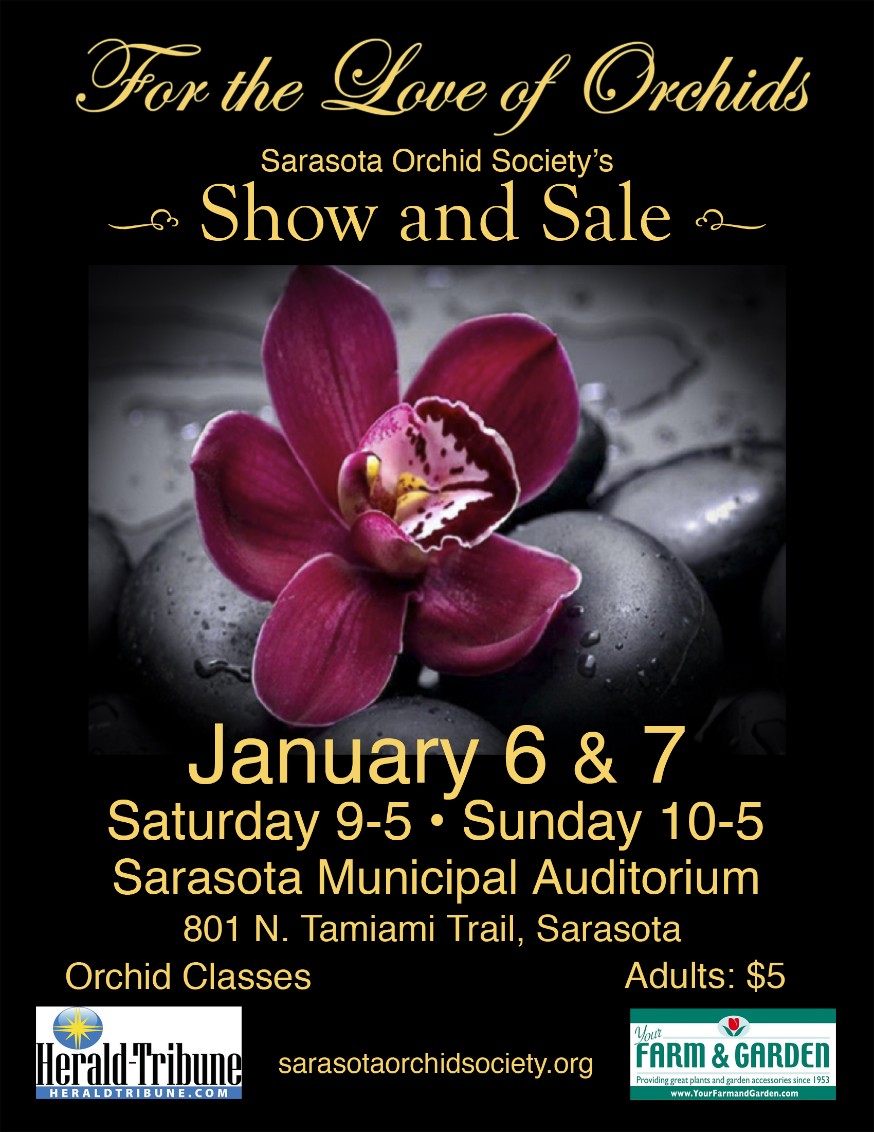 2018 Show and Sale: For the Love of Orchids