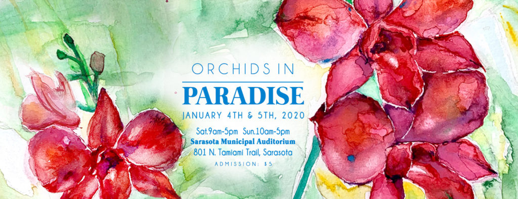 Sarasota Orchid Society 2020 Show and Sale